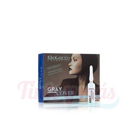 Salerm Grey Cover Cubre Canas 12x5ml.