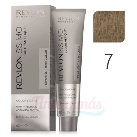 Revlon Revlonissimo Colorsmetique Nº 7 Rubio Medio 60ml.
