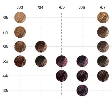 16 colores Color Touch Plus